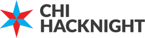 Chi Hack Night Logo Photo Courtesy of Christopher Whitaker