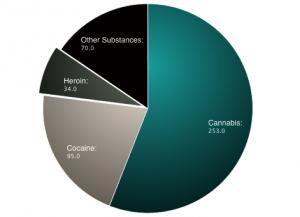 Drug Arrests in 2013