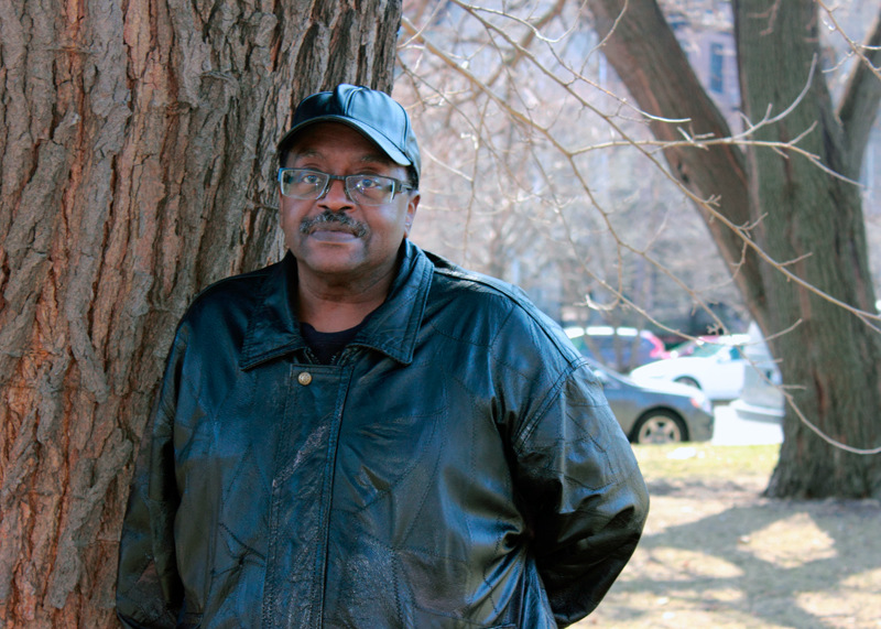William Robinson found a second home at the Woodlawn mental health clinic. Photo by Rosemary Lambin.